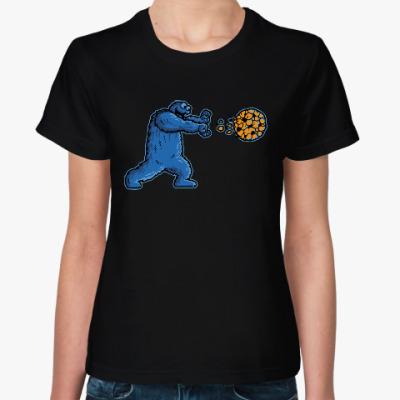 Женская футболка Коржик