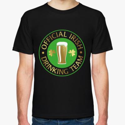Футболка drinking team
