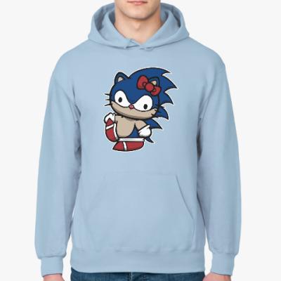 Толстовка худи Kitty Sonic