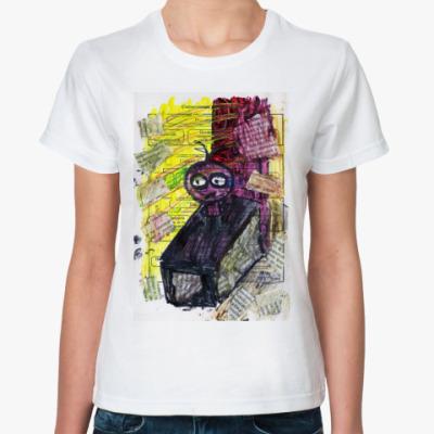 Классическая футболка Одинокий сверчок