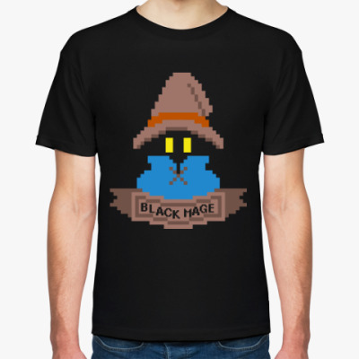 Футболка Black Mage (Final Fantasy)