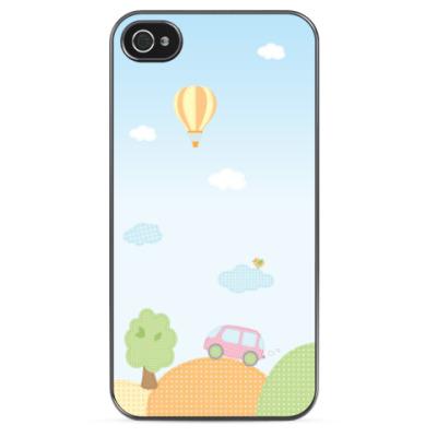 Чехол для iPhone Детские аппликации