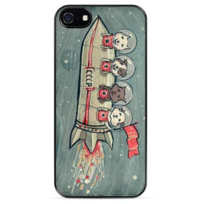 Чехол для iPhone Косматые космонавты