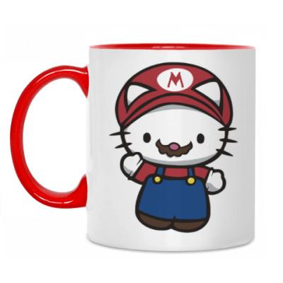 Кружка Китти Марио