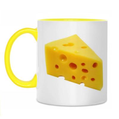 Кружка Сыр Кружка бел/жёлт