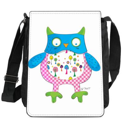 Сумка-планшет сова