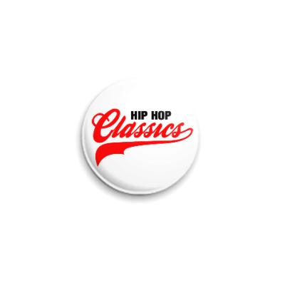 Значок 25мм Hip Hop Classics