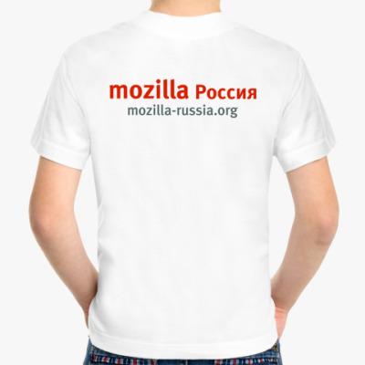 Детская футболка Mozilla.Rus