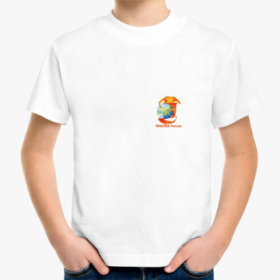 Детская футболка Детская футболка Mozilla.Rus
