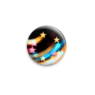 Значок 25мм  Звезды