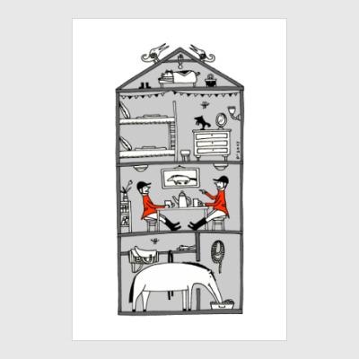 Постер House