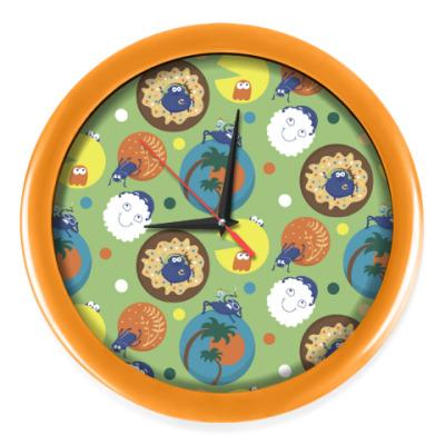 Настенные часы Жуки-скарабеи