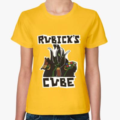 Женская футболка Rubick's Cube & Dota