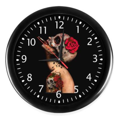 Часы Sugar skull girl