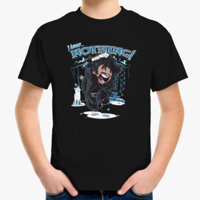 Детская футболка Джон Сноу