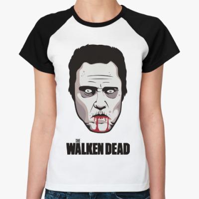 Женская футболка реглан Walken Dead