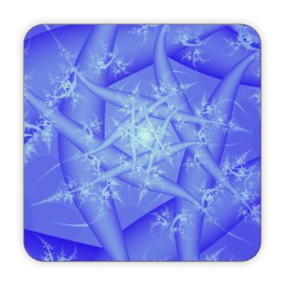 Костер (подставка под кружку) Зимняя пора