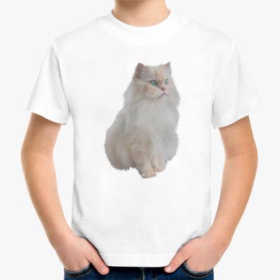Детская футболка Snow White Cat