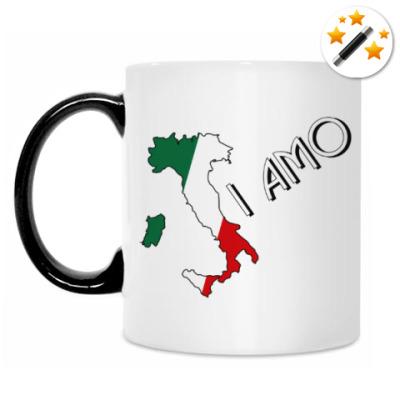 Кружка-хамелеон Я люблю тебя по-итальянски