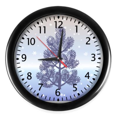 Настенные часы Ёлочка