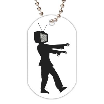 Жетон dog-tag Зомби ТВ