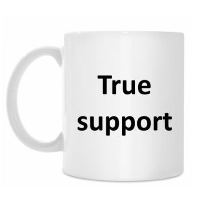True support mug
