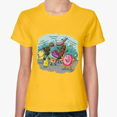 Женская футболка Слава