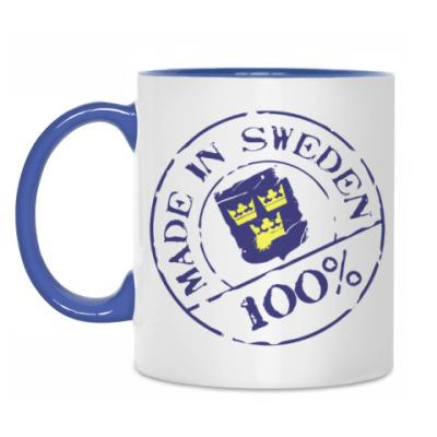 Кружка Шведская марка
