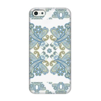 Чехол для iPhone 5/5s Пейсли паттерн