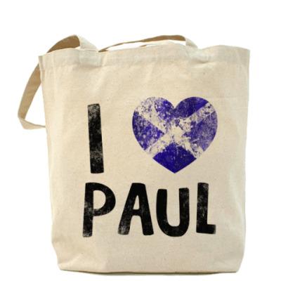 Сумка I LOVE PAUL