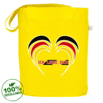 Сумка Я люблю тебя по-немецки
