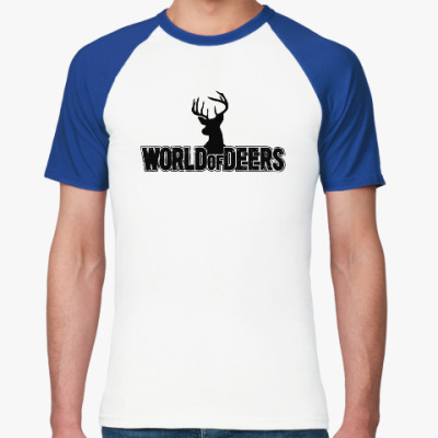 Футболка реглан World of deers