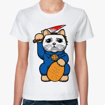 Классическая футболка Майкл Майерс (Хэллоуин)