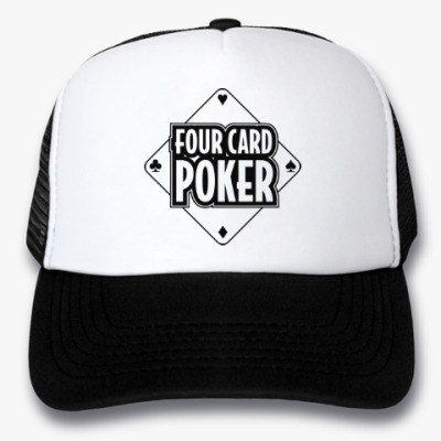 Кепка-тракер Four Card Poker