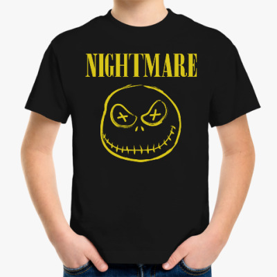 Детская футболка Ночной кошмар