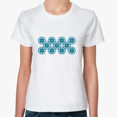 Классическая футболка Круги