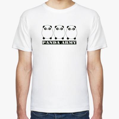 Футболка Panda Army white