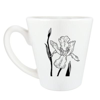 Чашка Латте Ирис