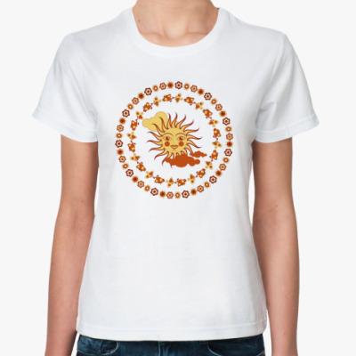 Классическая футболка Летний хоровод