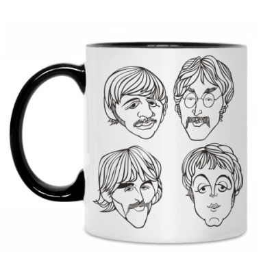 Кружка The Beatles