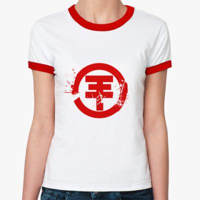 Женская футболка Ringer-T TH logo  Ж (б/к)