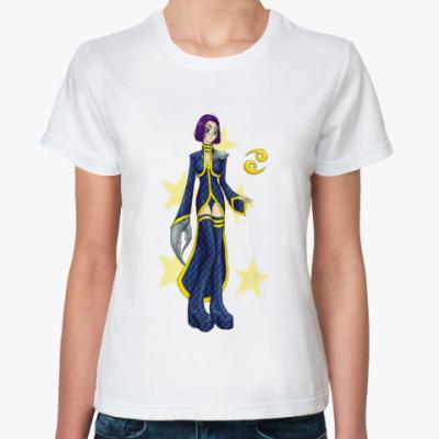 Классическая футболка 'Рак'