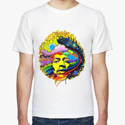 Футболка Hendrix  rainbow Муж