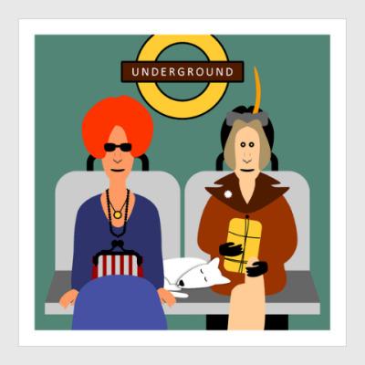 Постер Underground
