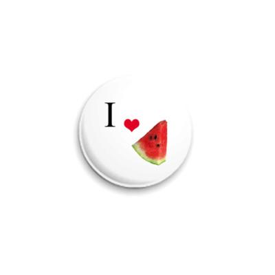 Значок 25мм  25 мм, Watermelon