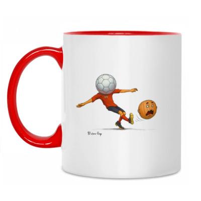 Кружка Тыква Футбол soccer