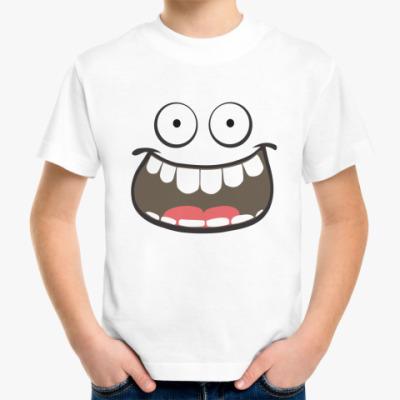 Детская футболка Хэппи Фэйс