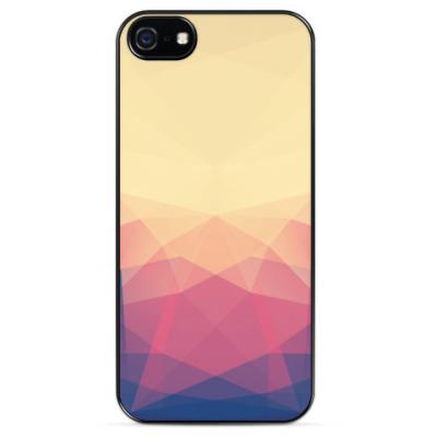 Чехол для iPhone Пастельная геометрия