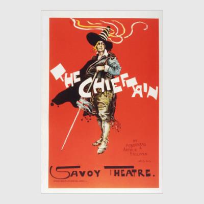 Постер Винтажный рекламный плакат