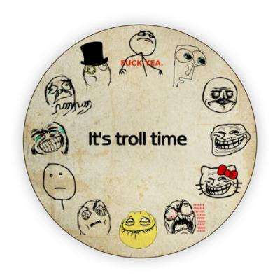Костер (подставка под кружку) Trollface